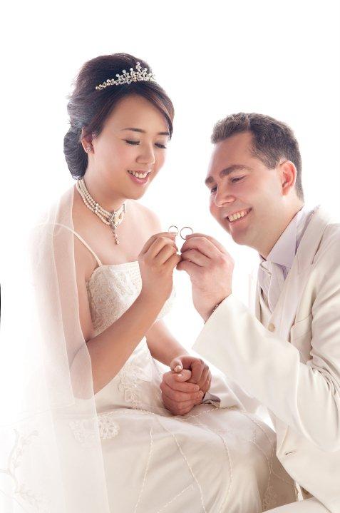 胖新娘的婚纱照来罗!,婚礼造型讨论