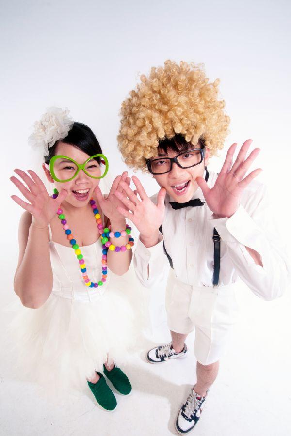 分享 可爱又有创意结婚照,满意推荐讨论 - 婚礼情报