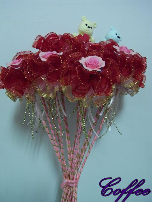手工的玫瑰花