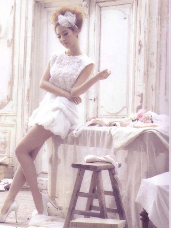 分享少女时代的韩风婚纱专辑照片