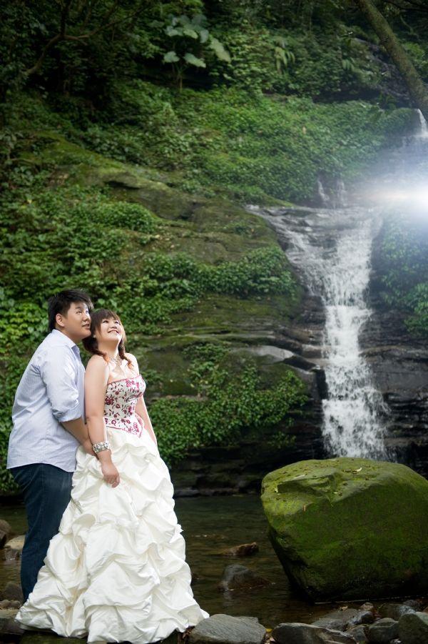 分享120   85 公斤的婚纱照(二) 瀑布铁路篇, 婚礼