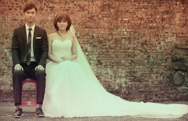 我喜欢的复古婚纱照~~,婚礼造型讨论 - 婚礼情报│wed