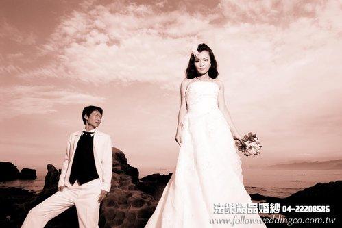 穿白纱~新娘发型一定都要盘起来吗?