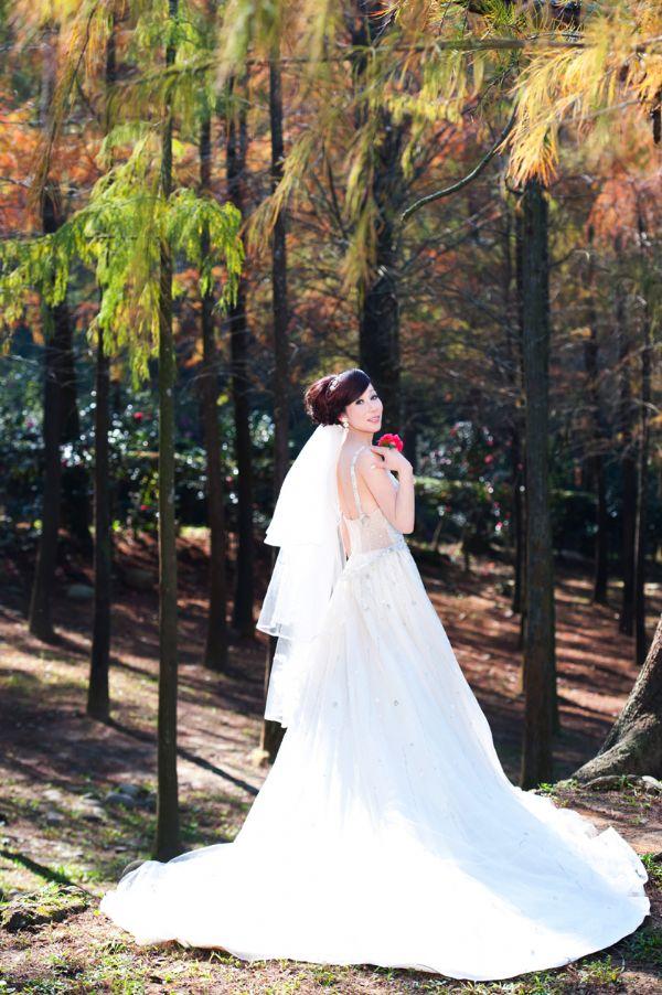 手画婚纱图片步骤图