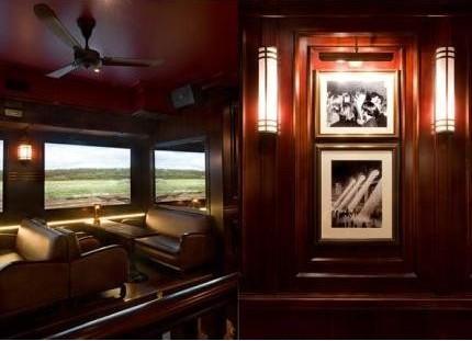火车主题餐厅