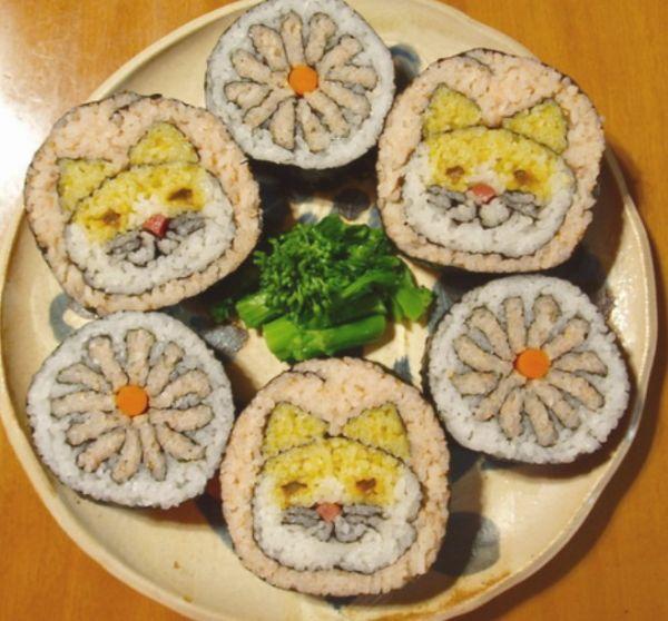 可爱的寿司图片大全