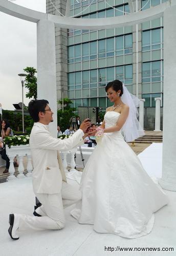 这样的欧式浪漫婚礼可不容易!
